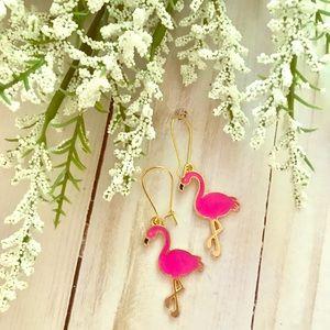 Jewelry - Flamingo Dangle Earrings